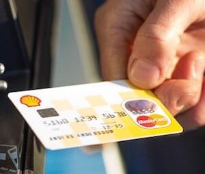 Rabatt på drivmedel med Shell Mastercard