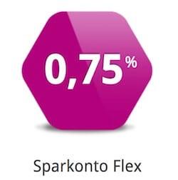 Sparkonto Flex