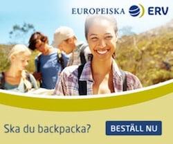 Teckna reseförsäkring Backpacker