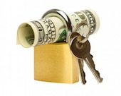 låsta pengar