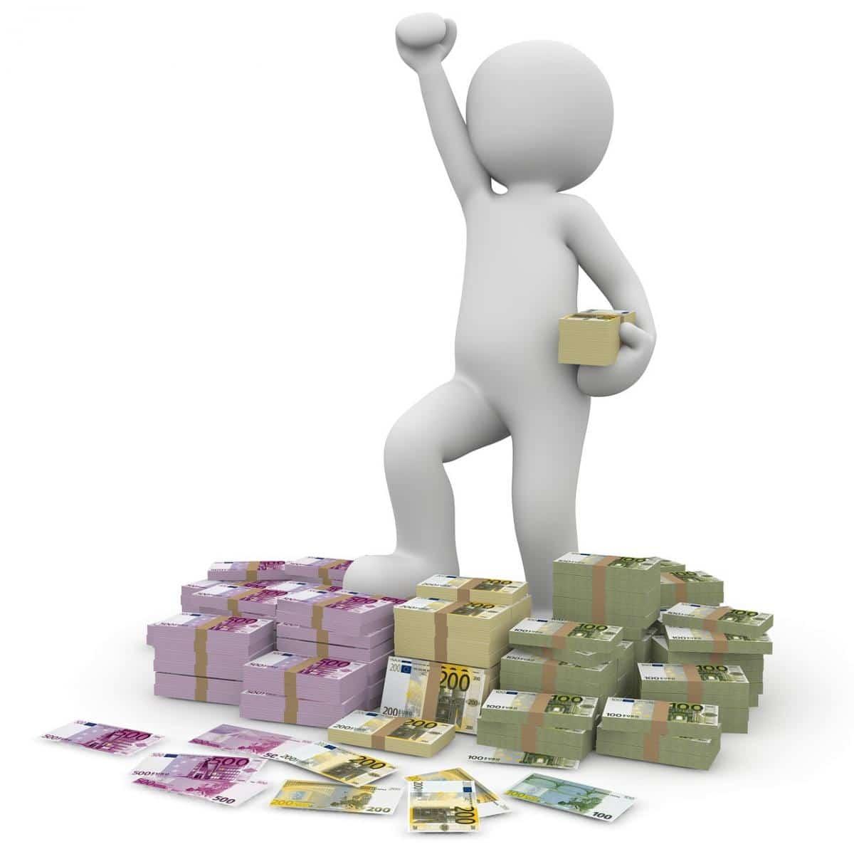 spara pengar på bank