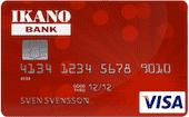 Ikano banken visakort