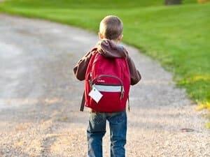 Ny ryggsäck till dagis och skola