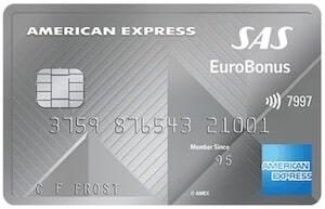 SAS EuroBonus American Express Elite Card