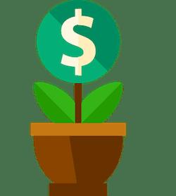 Spara och investera pengar hos banker och kreditinstitut