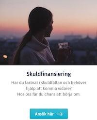 Skuldfinansiering hos SveaDirekt