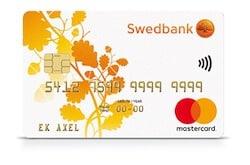 Bankkort Swedbank