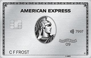 American Express Platinum Metall