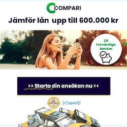 Jämför privatlån hos Compari