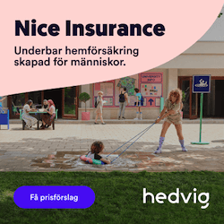 Teckna en hemförsäkring hos Hedvig