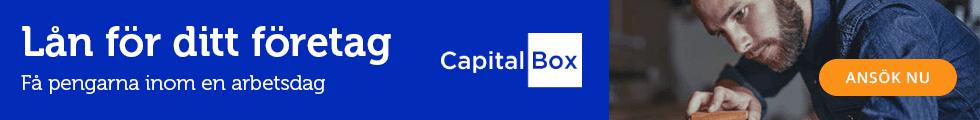Låna till ditt företag hos CapitalBox