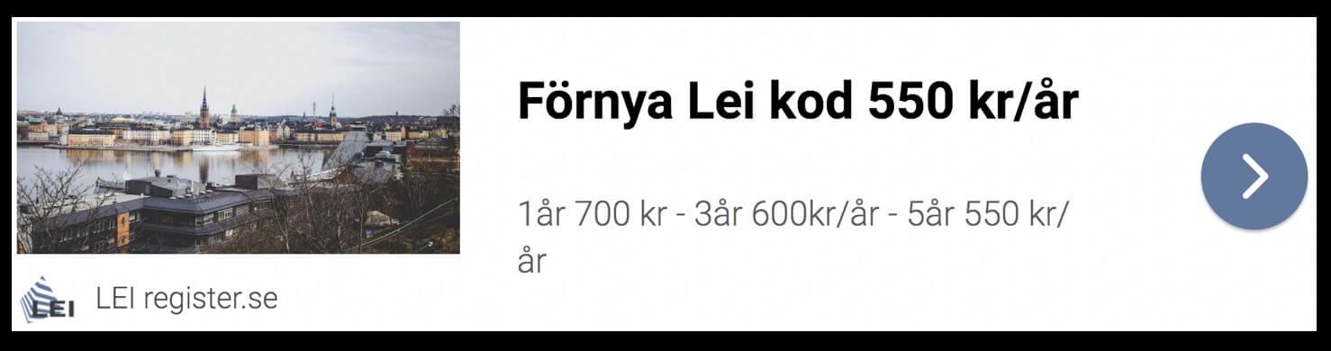 Förnya Lei
